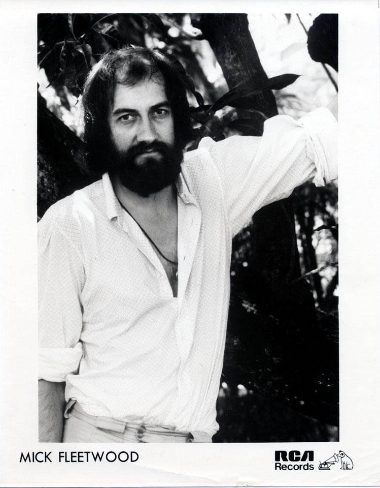 Mick Fleetwood Promo Print