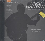 Mick Hanson Duo CD