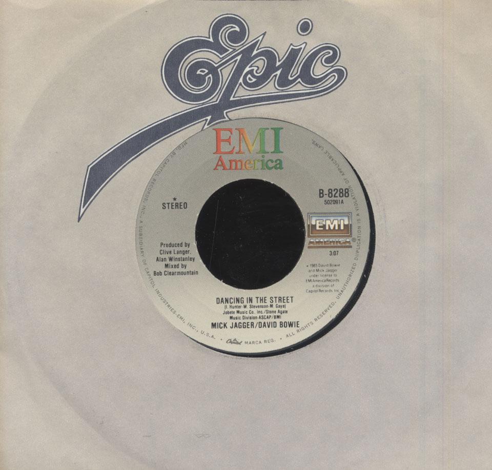 "Mick Jagger / David Bowie Vinyl 7"" (Used)"