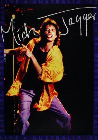 Mick Jagger Poster
