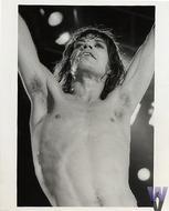 Mick Jagger Vintage Print