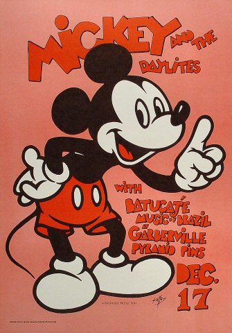 Mickey Hart & the Daylites Poster