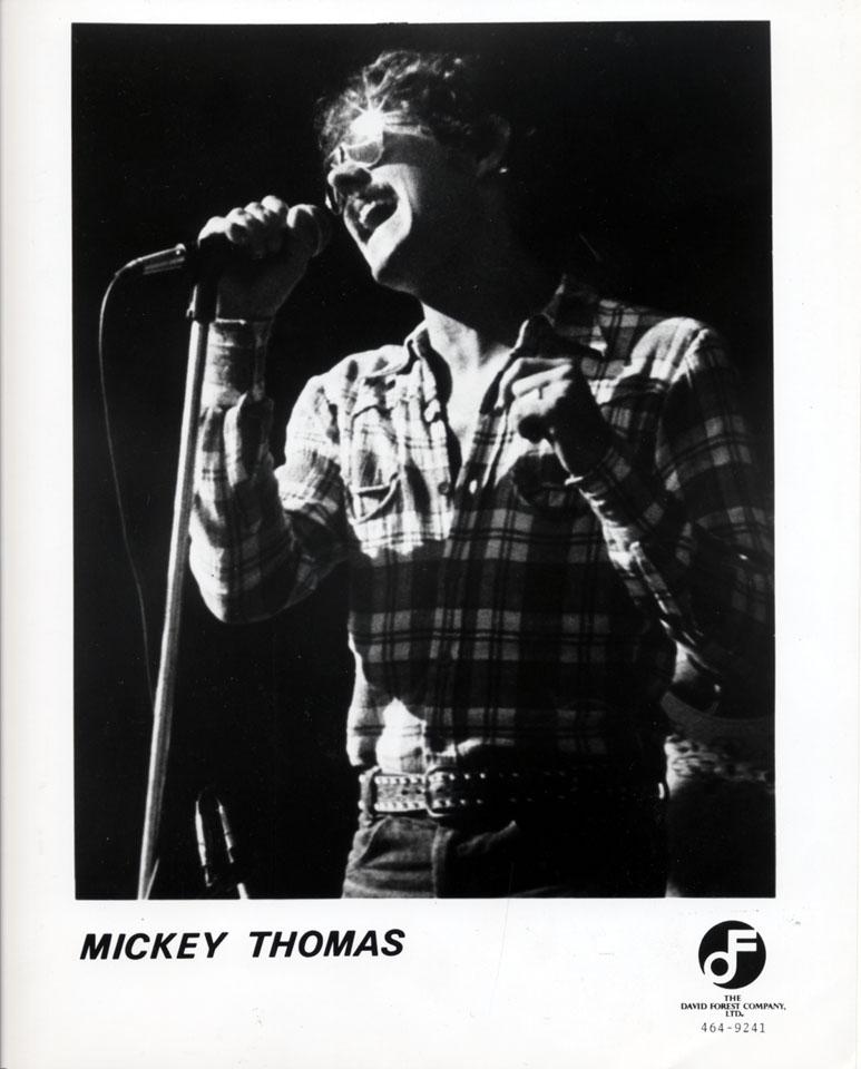 Mickey Thomas Promo Print
