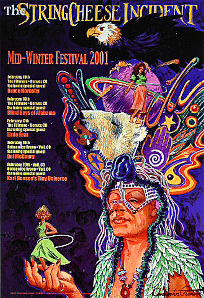 Mid-Winter Music Festival and Carnival Poster