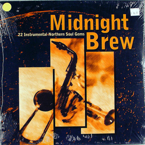 "Midnight Brew  22 Instrumental Northern Soul Gems Vinyl 12"" (New)"