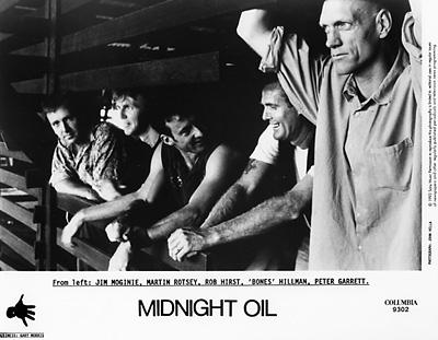 Midnight Oil Promo Print