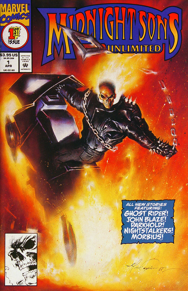 Midnight Sons Unlimited Comic Book