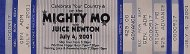 Mighty Mo Vintage Ticket