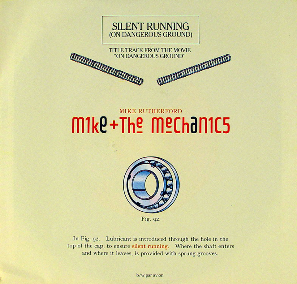 "Mike and the Mechanics Vinyl 7"" (Used)"