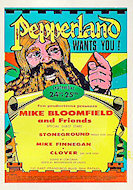 Mike Bloomfield and Friends Handbill