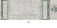 Mike Scott Vintage Ticket