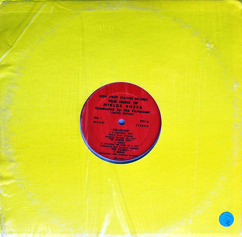 """Miklos Rozsa Vinyl 12"""" (New)"""