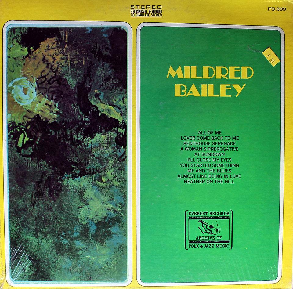 "Mildred Bailey Vinyl 12"" (New)"