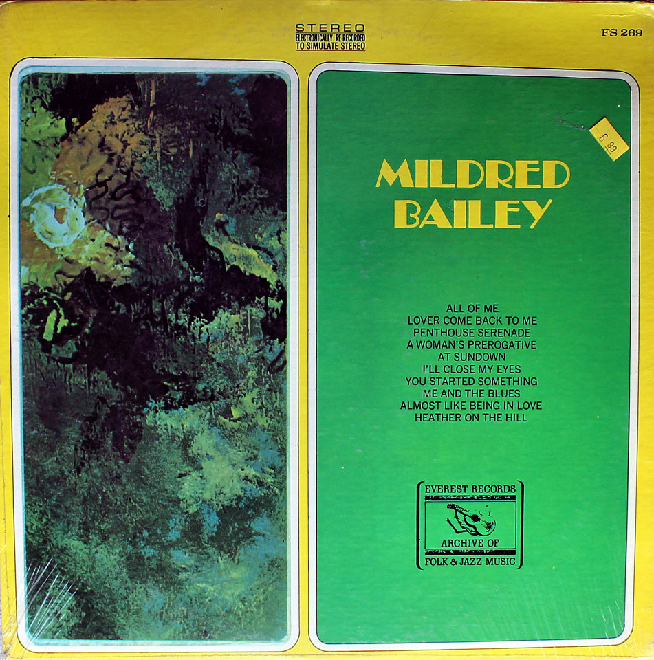 "Mildred Bailey Vinyl 12"" (Used)"