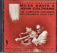 Miles Davis & John Coltrane CD