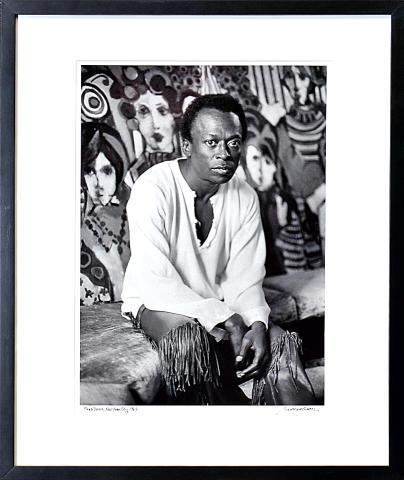 Miles Davis Framed Fine Art Print