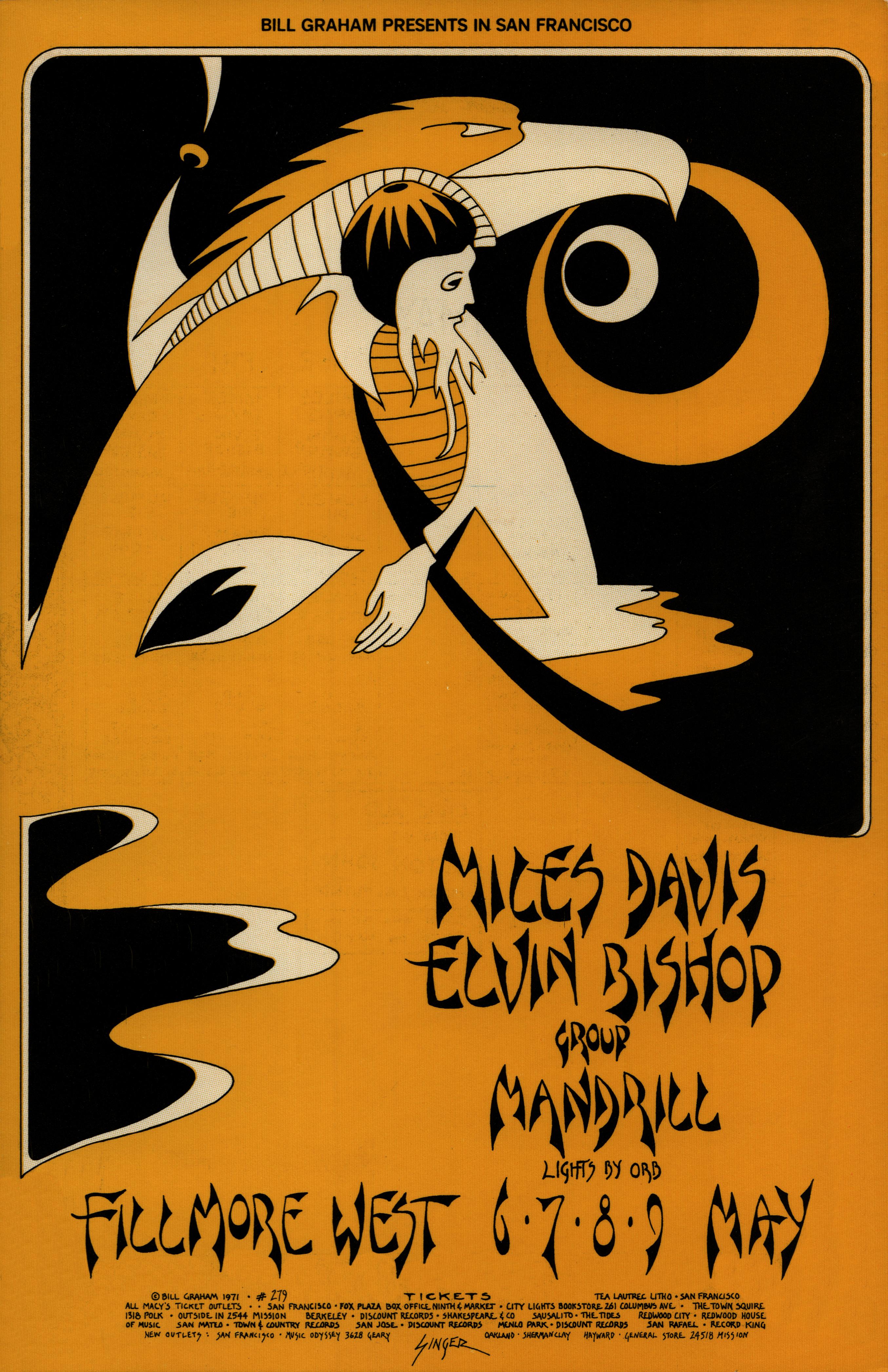 Miles Davis Poster