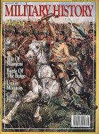 Military History Vol. 9 No. 3 Magazine