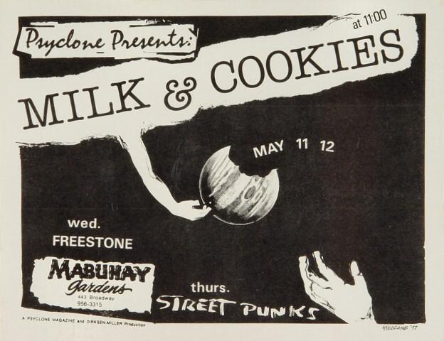 Milk & Cookies Handbill