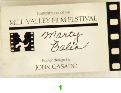 Mill Valley Film Festival Laminate