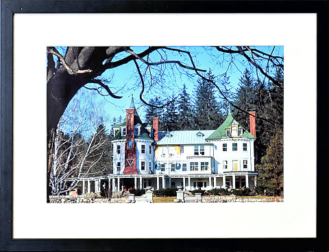 Millbrook House Framed Fine Art Print