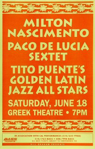 Milton Nascimento Poster