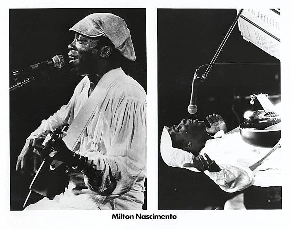 Milton Nascimento Promo Print
