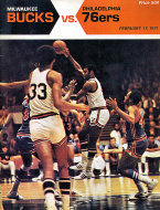 Milwaukee Bucks vs. Philadelphia 76ers Magazine
