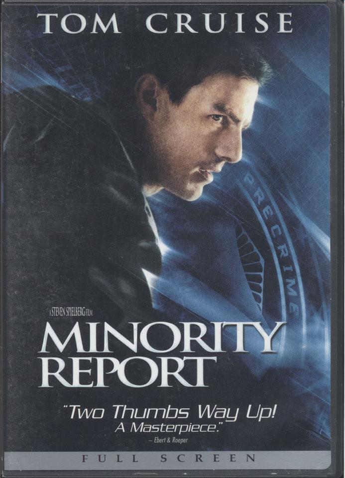 Minority Report DVD