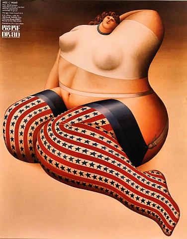 Miss 'C' Print Poster
