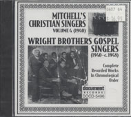 Mitchell's Christian Singers / Wright Brothers Gospel Singers CD