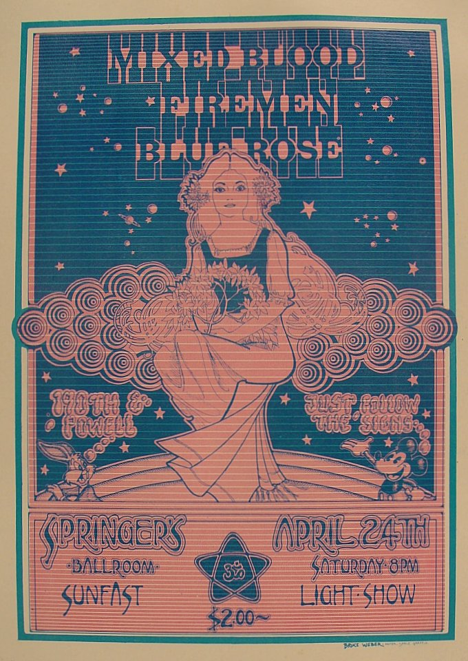 Mixed Blood Handbill