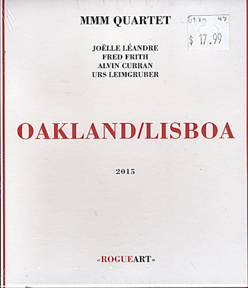 MMM Quartet CD