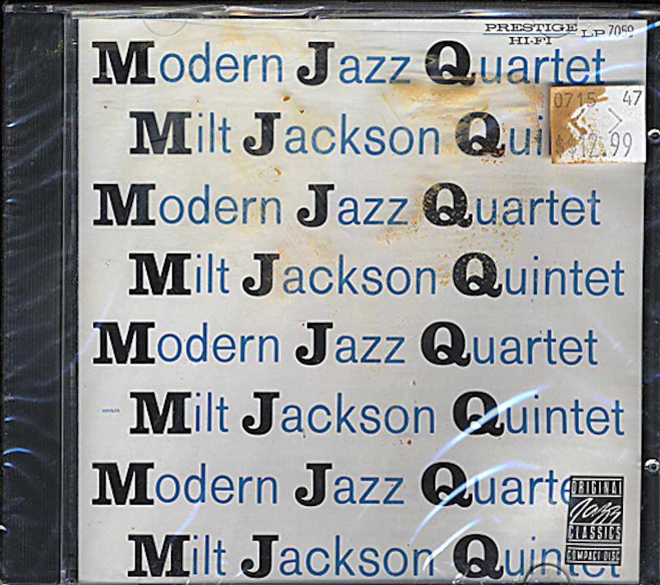 Modern Jazz Quartet / Milt Jackson Quintet CD