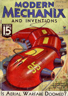 Modern Mechanix And Inventions Vol. XIII No. 1 Magazine