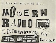 Modern Radio Handbill