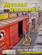 Modern Railroads Vol. 19 No. 1 Magazine