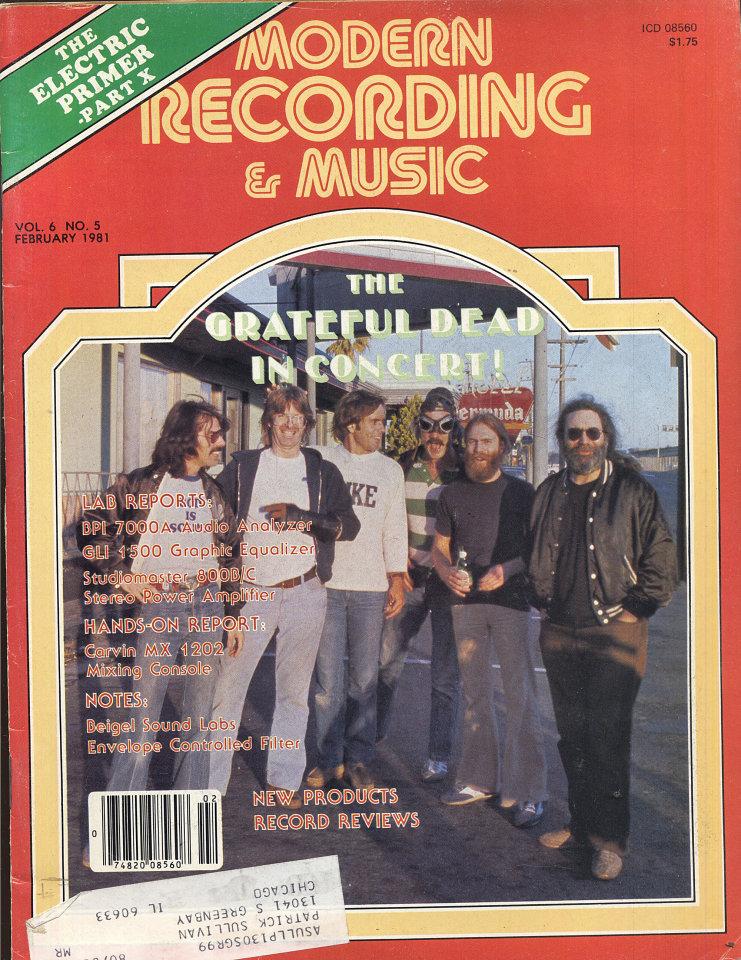 Modern Recording & Music Vol. 6 No. 5