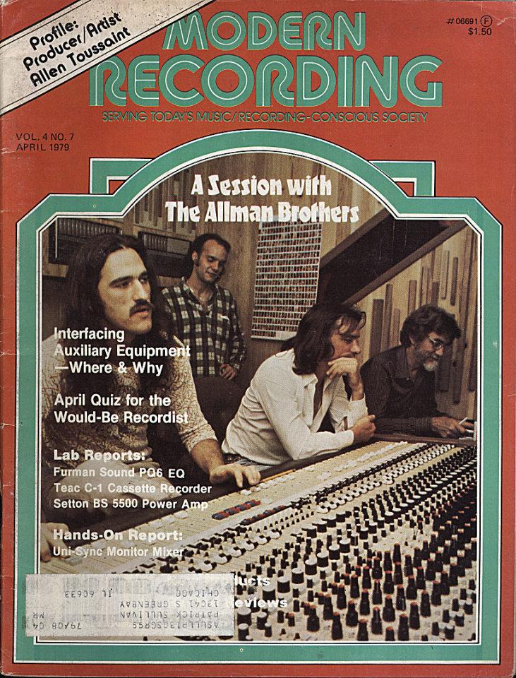 Modern Recording Vol. 4 No. 7