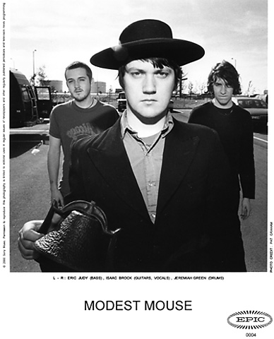 Modest Mouse Promo Print