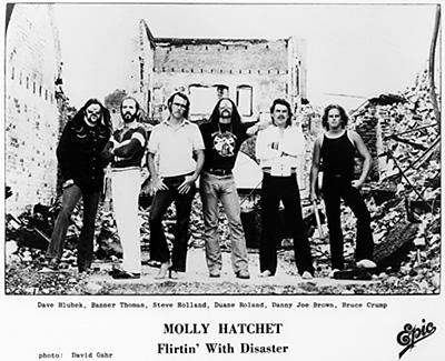 Molly Hatchet Promo Print