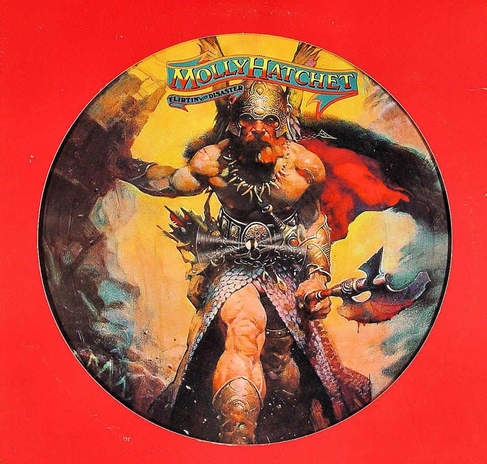 "Molly Hatchet Vinyl 12"" (Used)"