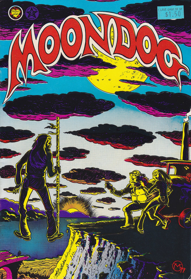 Moondog #4 Comic Book