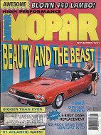 MOPAR Vol. V No. 6 Magazine