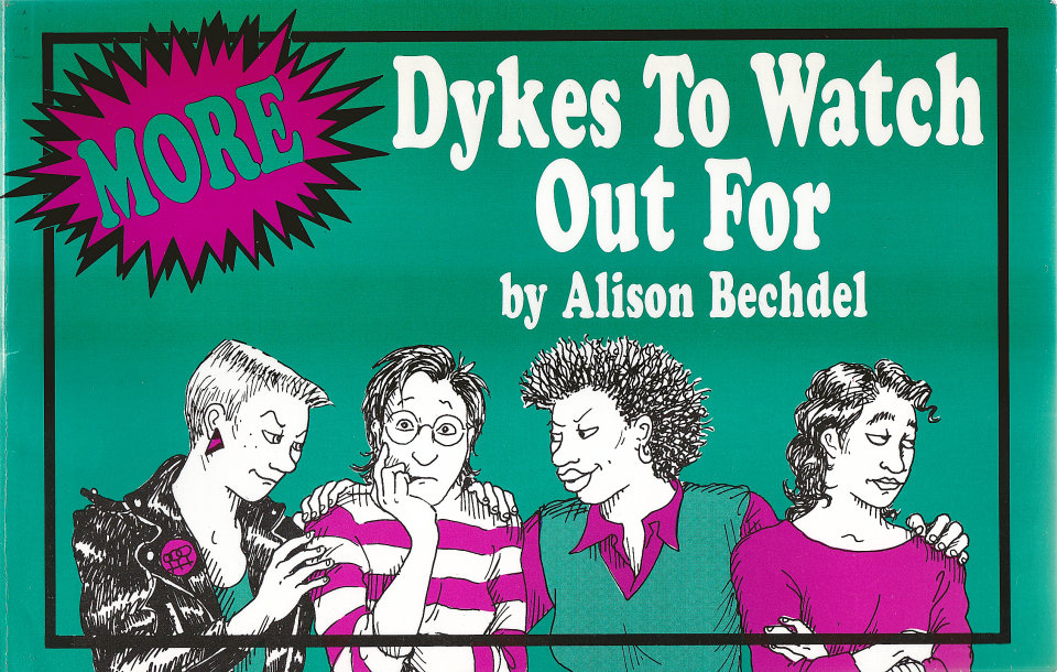 more dykes to watch out for book by alison bechdel, 1988 at wolfgang's