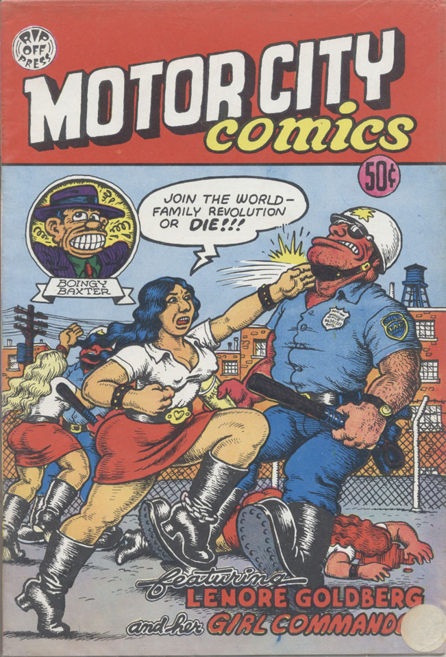 Motor City Comics No 1 Comic Book 1969 At Wolfgang 39 S