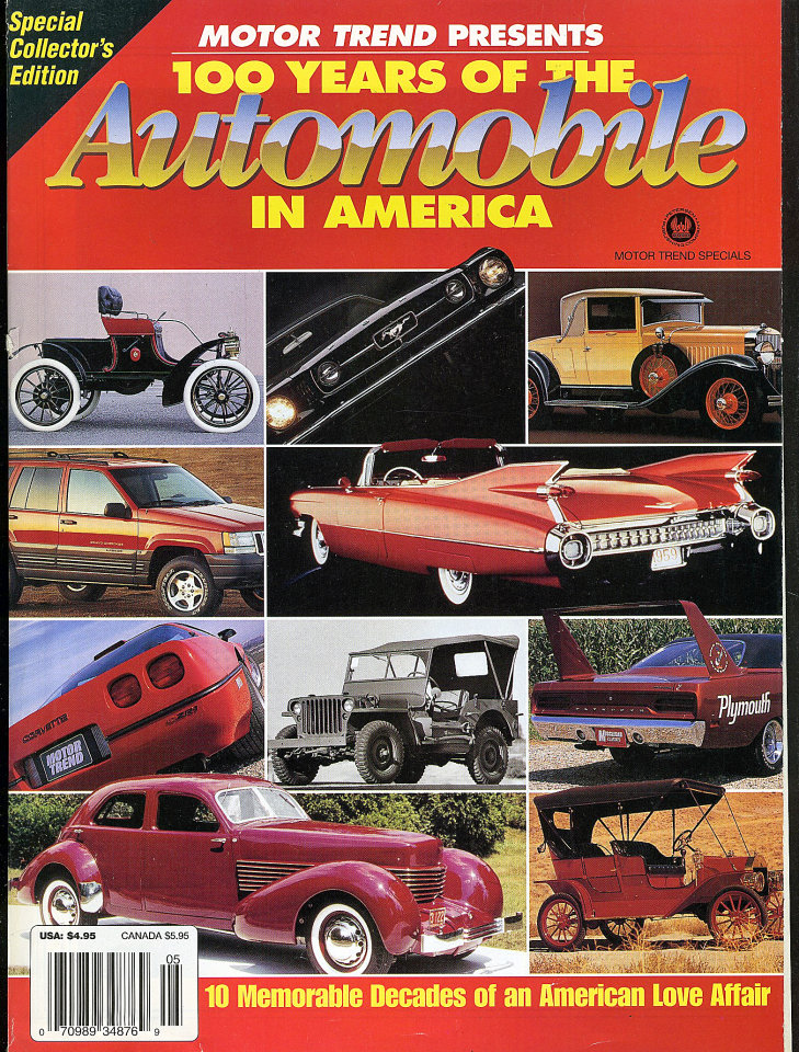 Motor Trend: 100 Years Of The Automobile In America