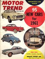 Motor Trend  Apr 1,1961 Magazine