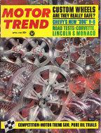 Motor Trend  Apr 1,1965 Magazine
