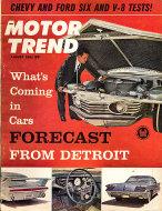Motor Trend  Aug 1,1961 Magazine